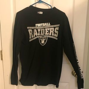 Oakland raiders long sleeve shirt